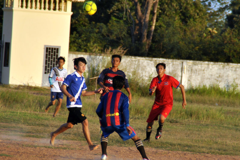 Football Match in Cambodia