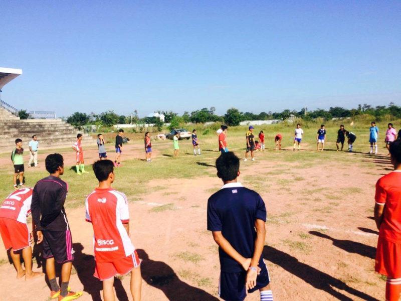 Volunteer Football Project in Cambodia