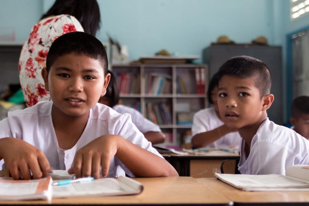 Thailand School Kids