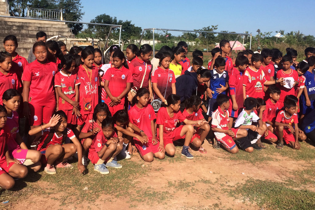 Girls Football in Cambodia