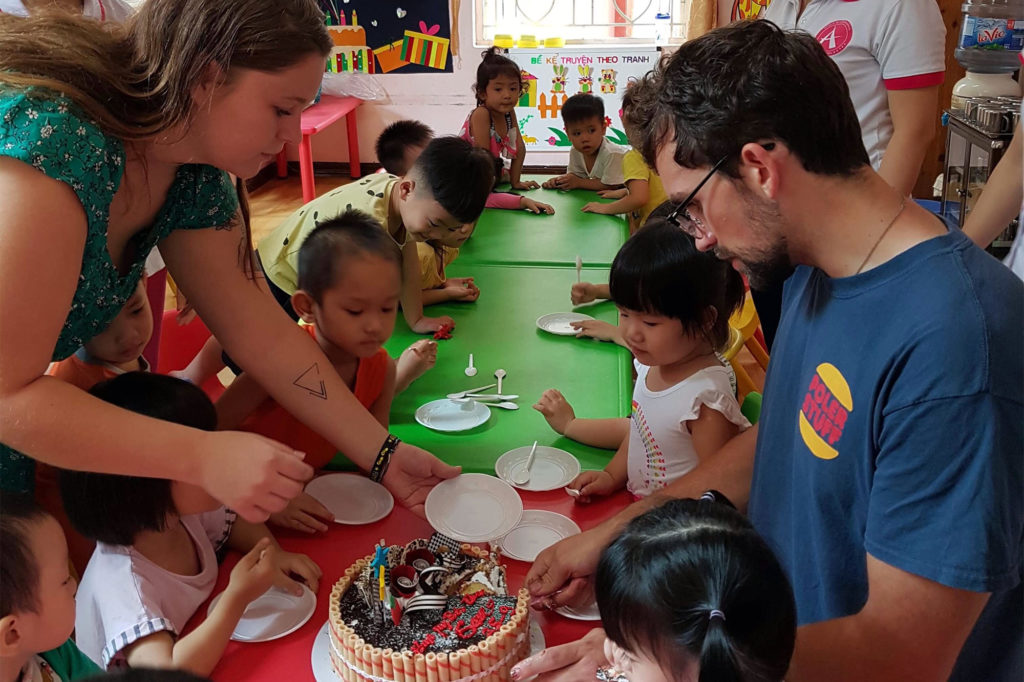 Care Work Project and Birthday Party