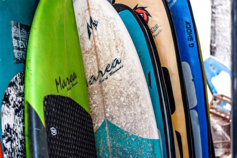 Surf Boards in Peru