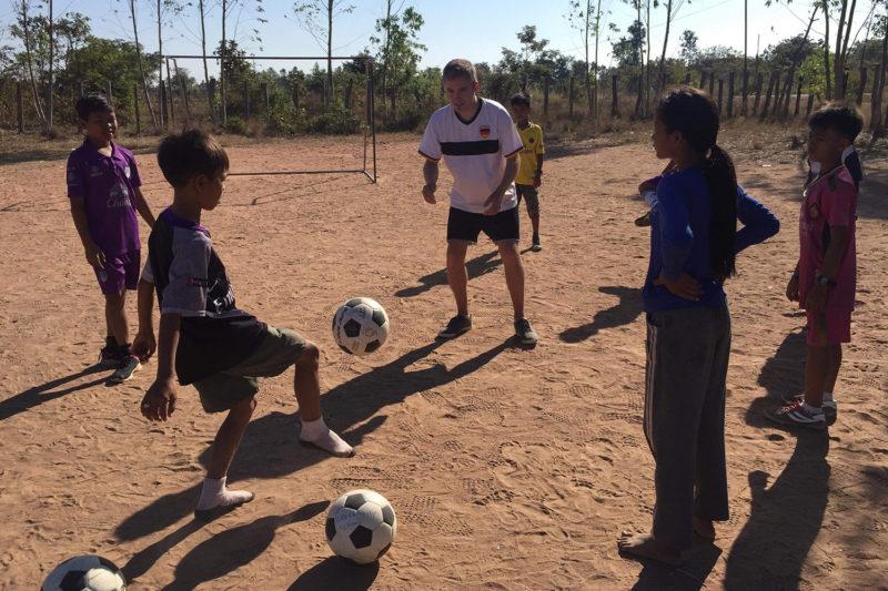 Coach Football in Cambodia