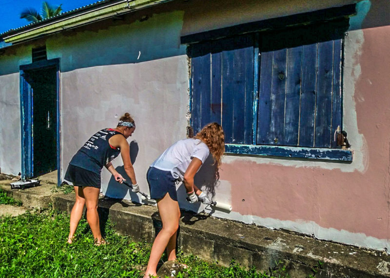 Community Building Project in Fiji