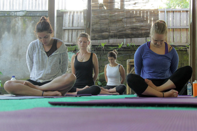 Meditation Holiday in Bali, Indonesia