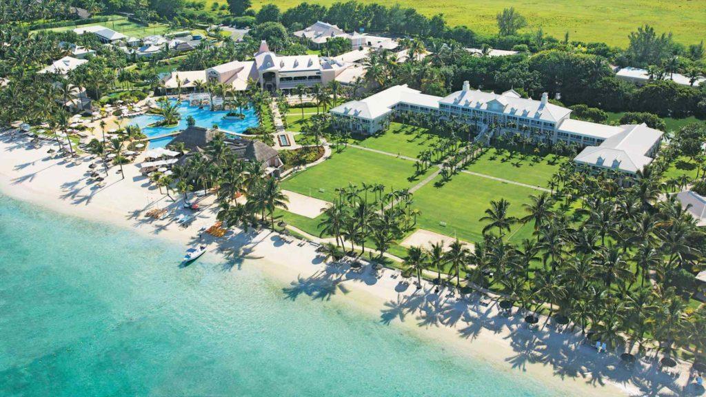 Mauritius - West Coast - 3996 - Sugar Beach aerial view