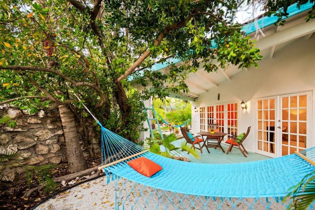 Aruba - Palm Beach - Boardwalk Boutique Hotel hammock