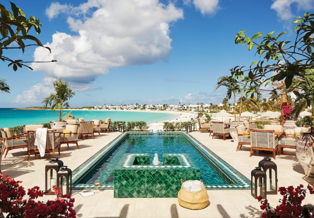 Anguilla - Maundays Bay - Cap Juluca pool