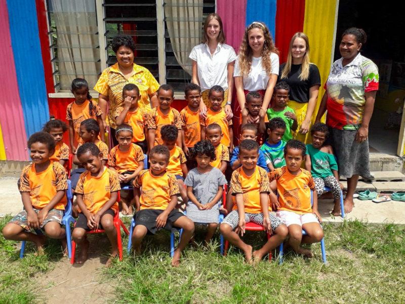 Pre School Volunteer Project in Fiji