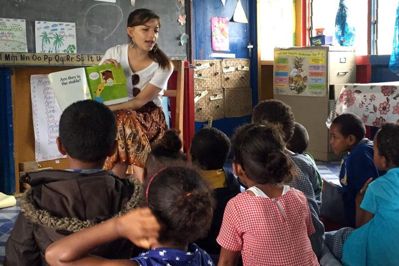 Kindergarten Volunteer Project in Fiji