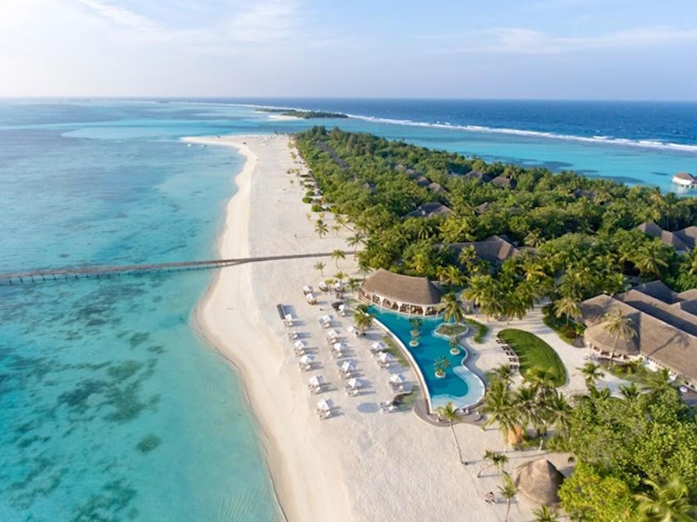 Maldives - Kanuhura Atoll - 1567 - Kanuhura aerial view