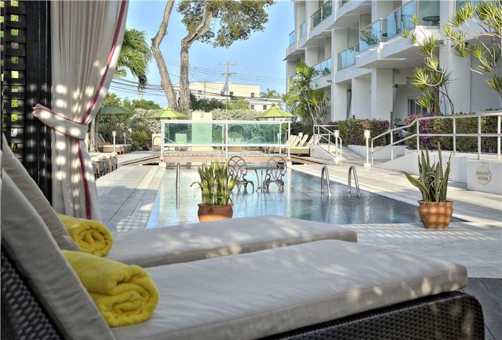 Barbados - Christ Church - South Beach Hotel pool