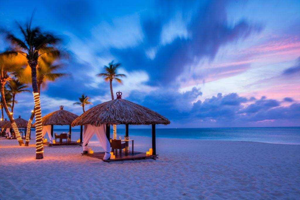 Aruba - Oranjestad-West - Bucuti and Tara Beach Resort sunset