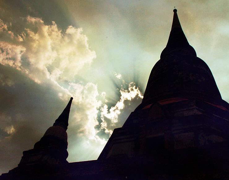 Siam Wat in Thailand