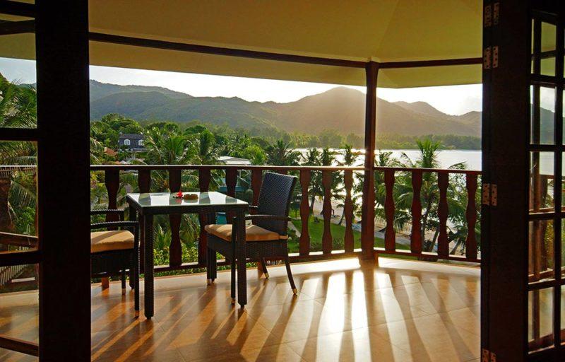 Seychelles - Praslin Island - 1554 - Hotel L'Archipel view