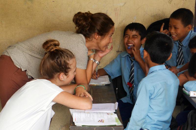 Teach Kids in Nepal