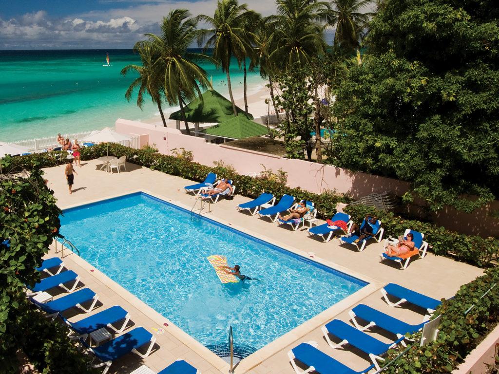 Barbados - Christ Church - Butterfly Beach Hotel pool