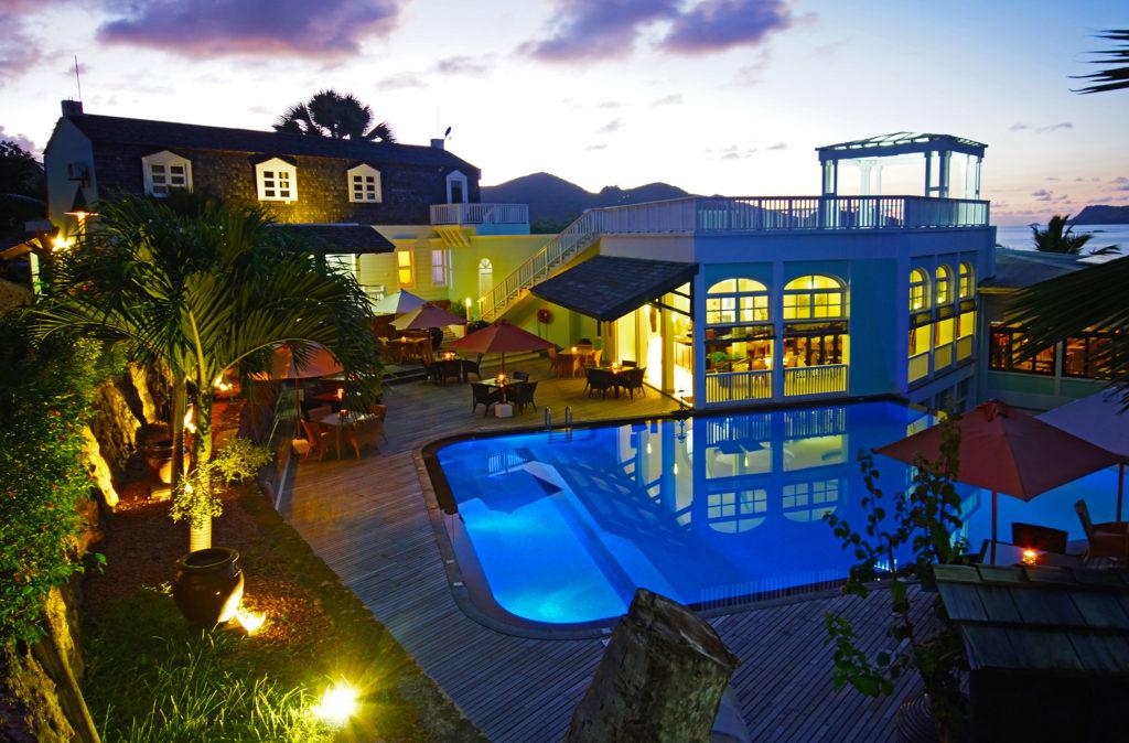 Seychelles - Praslin Island - 1554 - Hotel L'Archipel pool