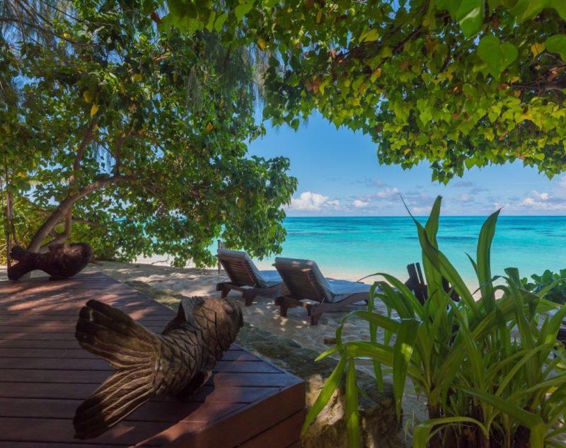 Seychelles - Denis Private Island - 1554 - Denis Island Resort beach