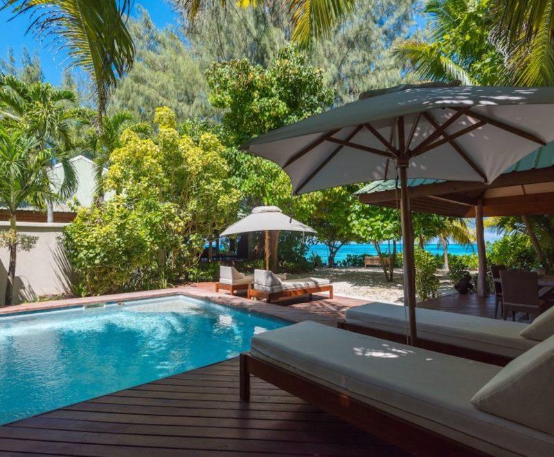 Seychelles - Denis Private Island - 1554 - Denis Island Resort pool