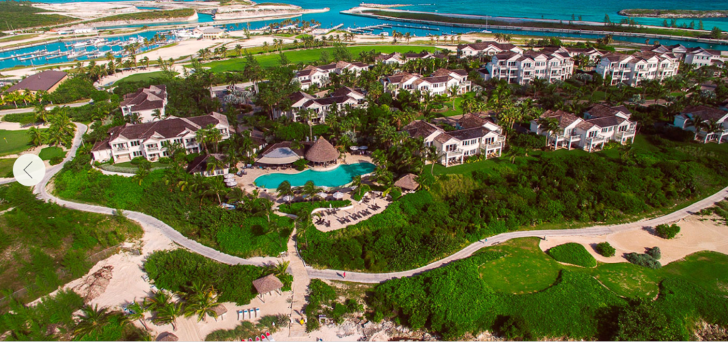 Bahamas - Exuma - Grand Isle Resort aerial