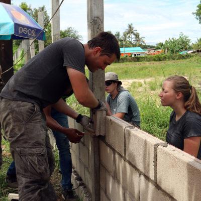 Community Construction Volunteer Project in Laos, Vientiane