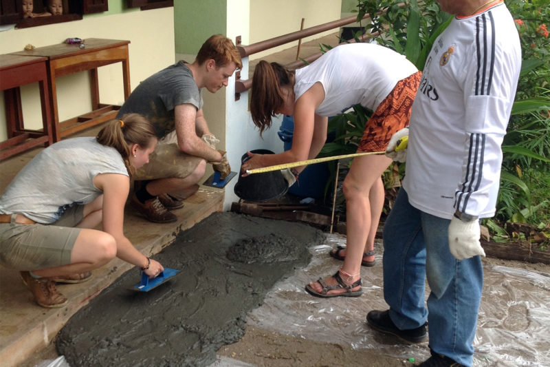 Renovation Project in Laos