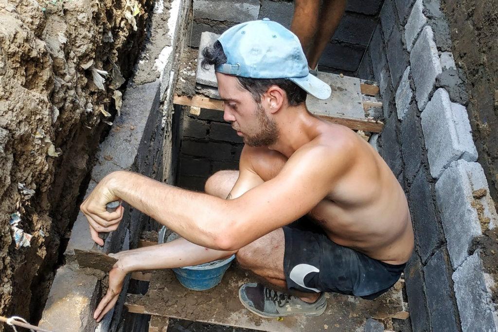 Bali Construction Volunteer Project