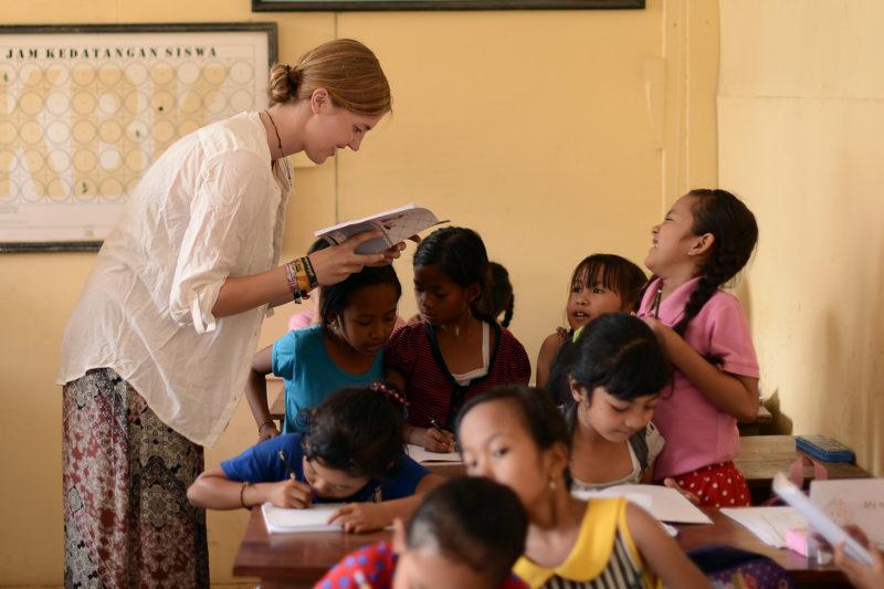 Volunteer English Teaching Project in Indonesia, Bali