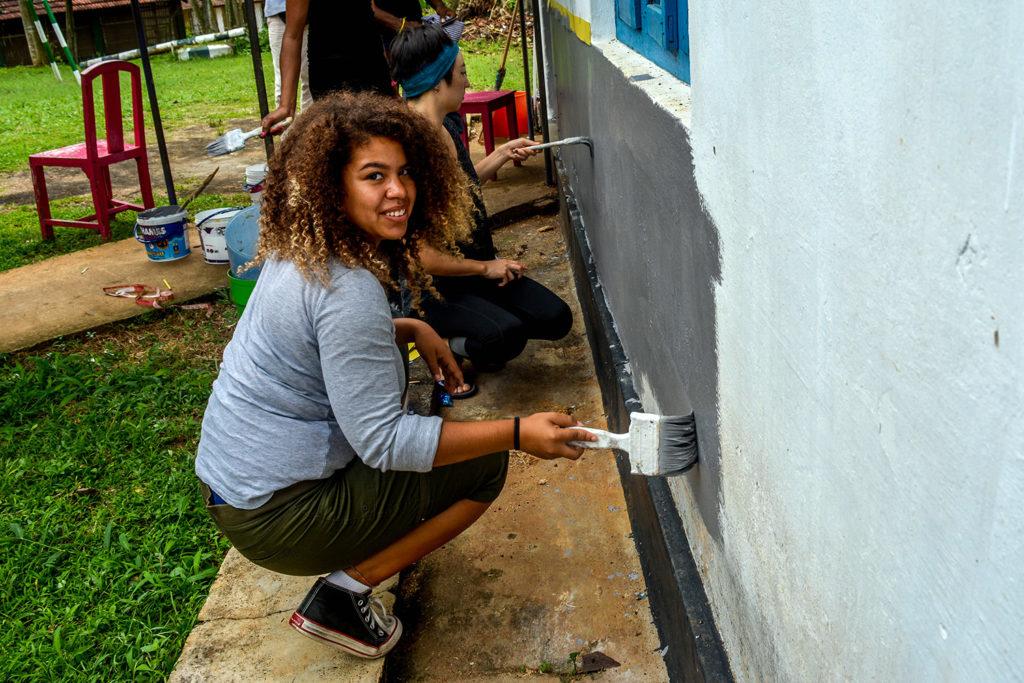 School Restoration Project in Sri Lanka