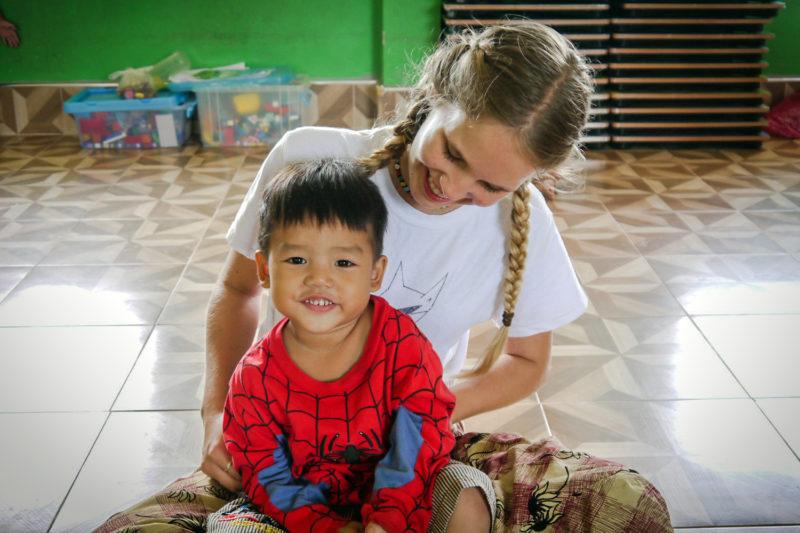 Kindergarten Volunteer Project Laos