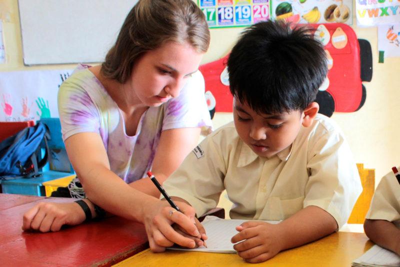 Kindergarten Programme in Bali, Indonesia
