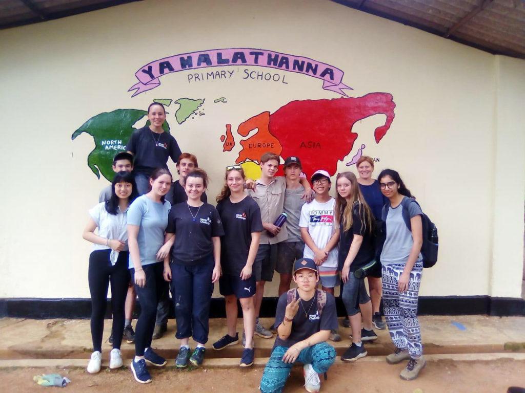 School Volunteer Project in Sri Lanka