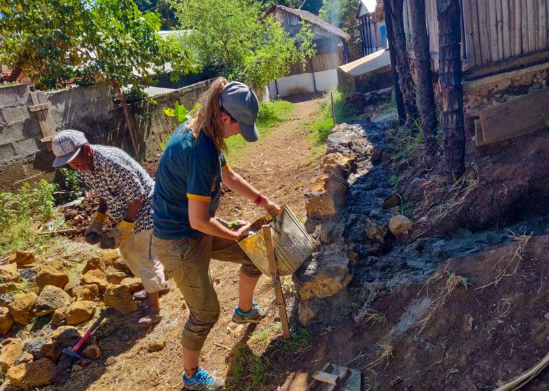 School Building Project in Madagascar
