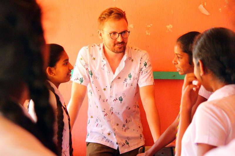 Teach Young People in Sri Lanka