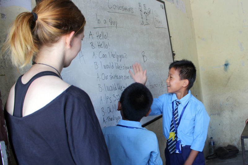Teach English in Nepal