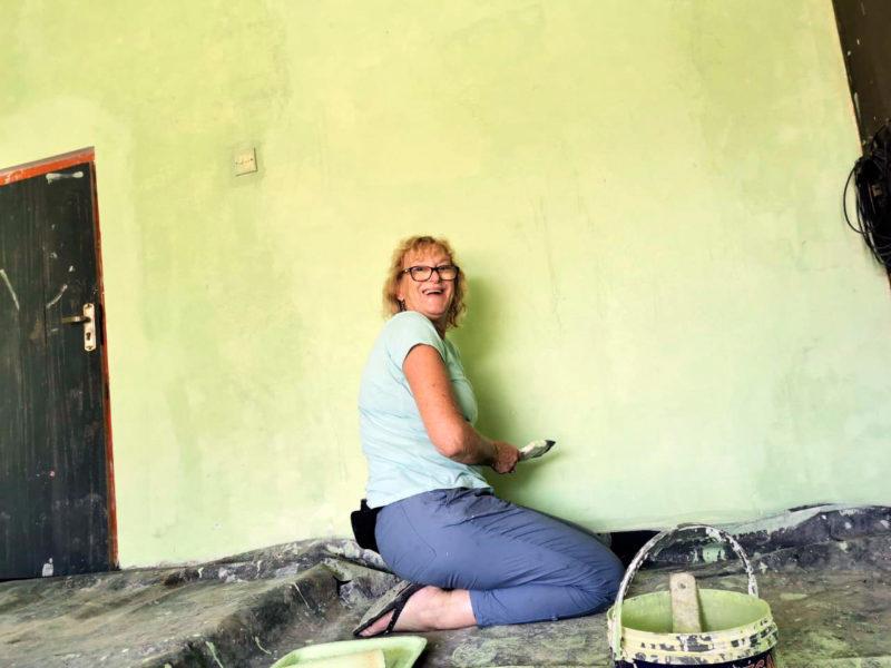 Painting Volunteer Project in Sri Lanka