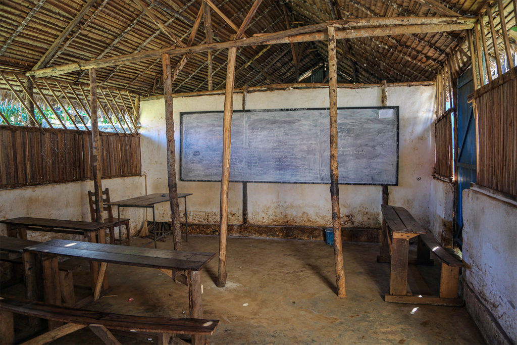 Completed School Construction in Madagascar