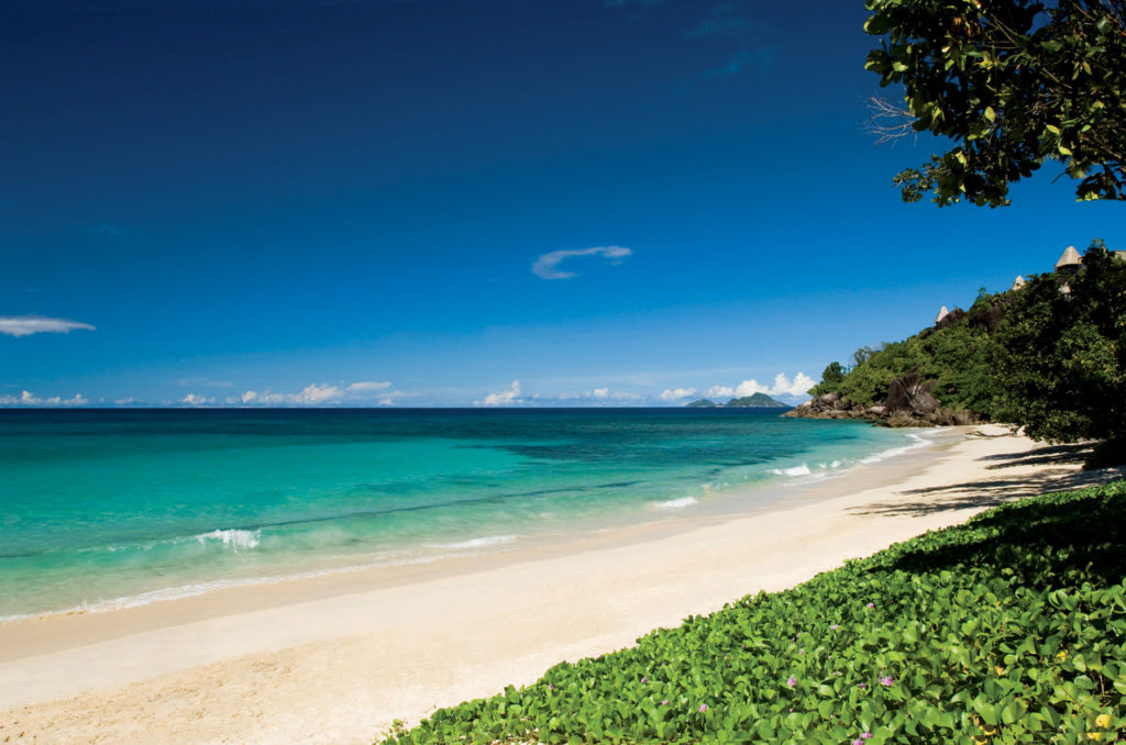 Seychelles - Mahe Island- 1554 - Maia Luxury Resort & Spa beach