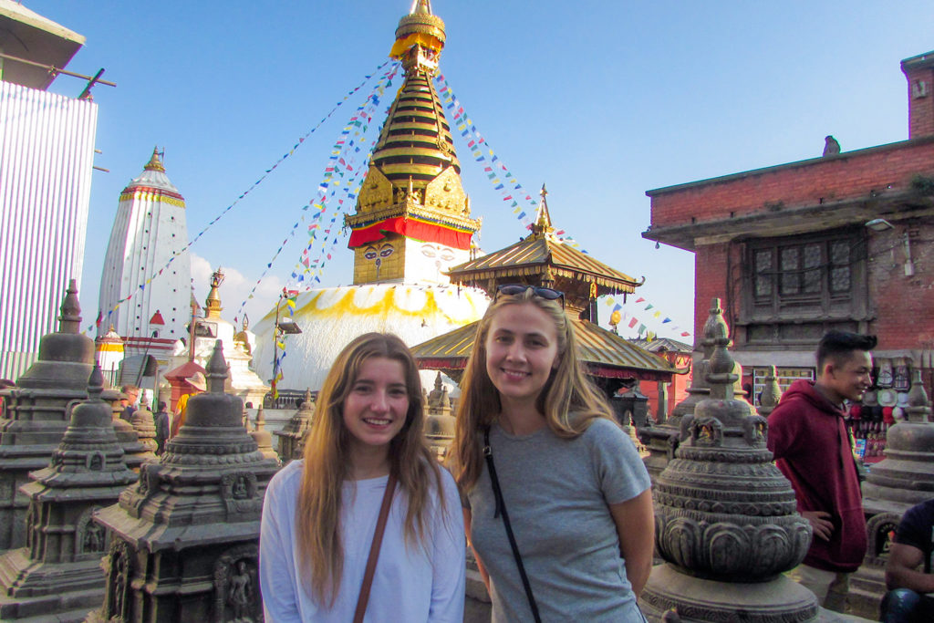 Temple Visit in Nepal