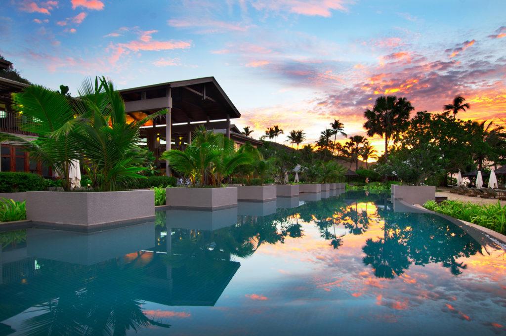 Seychelles - Baie Lazare - 1554 - Kempinski Resort pool