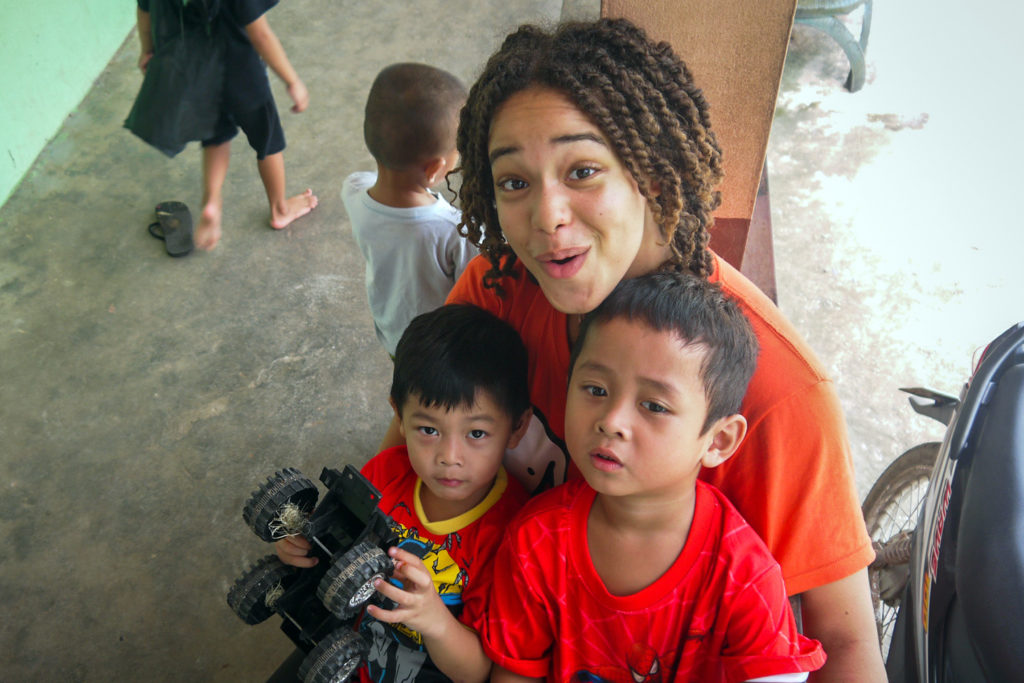 Child Care Volunteer Project in Laos