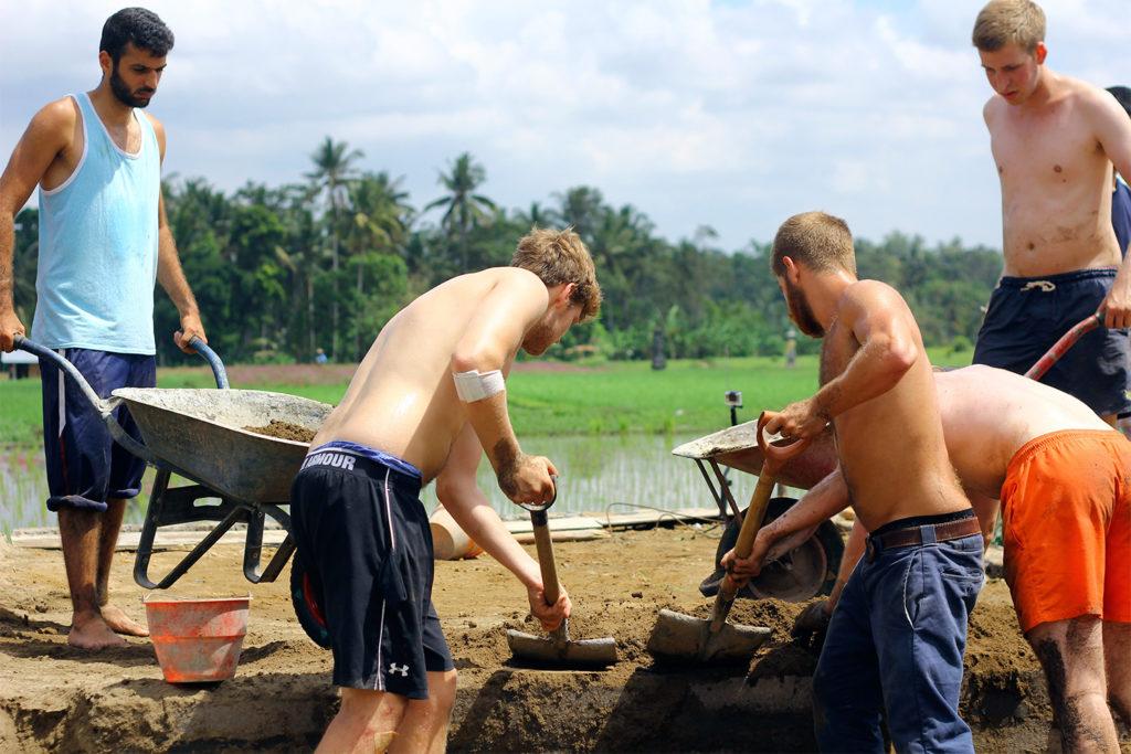 Community Building Project in Bali