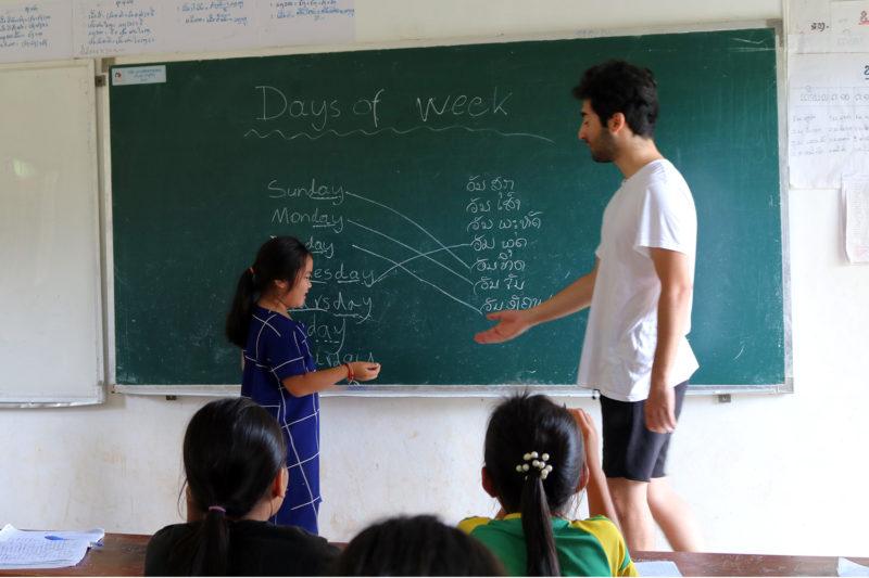 Classroom Teaching in Laos