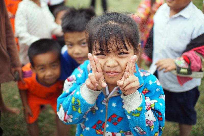 School Kids in Laos