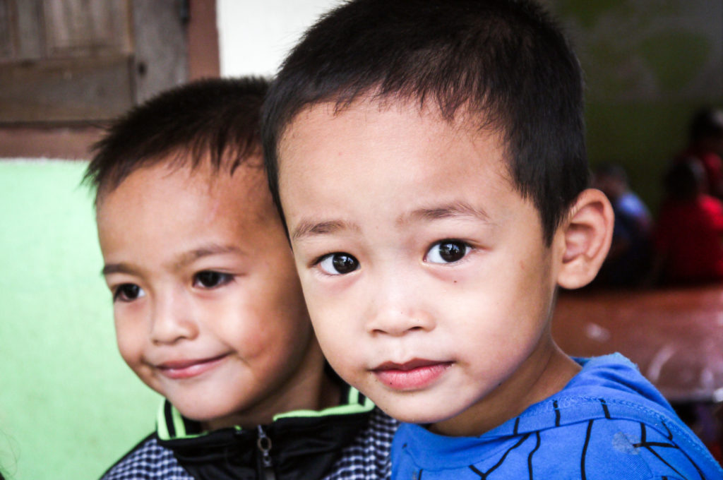 Young Boys from Laos