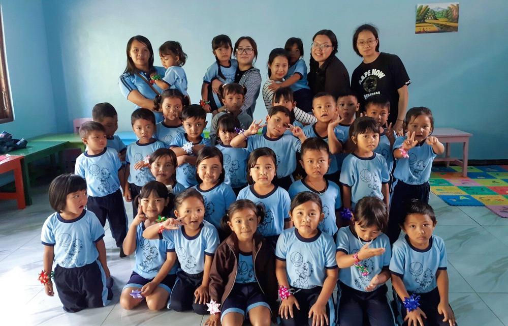 Kindergarten Project in Bali, Indonesia