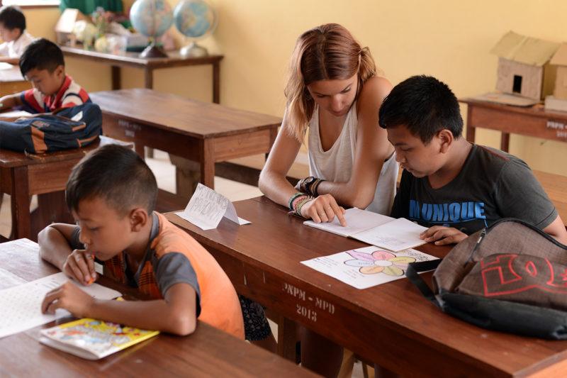 School Teaching Programme in Bali
