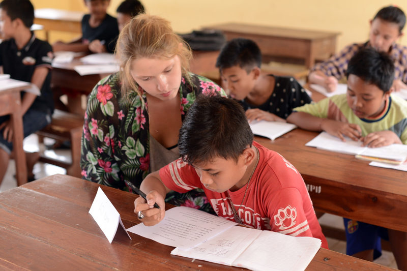 Support Children with Learning in Bali