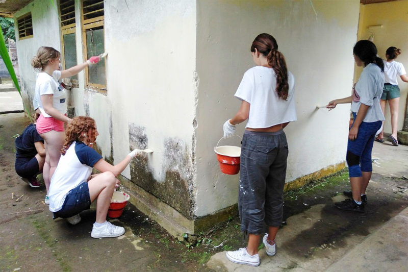 Renovating a School in Bali